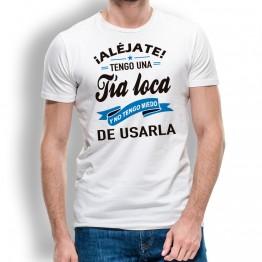 Camiseta Tia Loca Usarla hombre