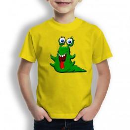 camiseta babosa para niños