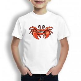 Camiseta Cangrejo Trisky para Niños