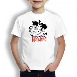 Camiseta de Niños con Cabeza Duba de La Banda del Capitán Inhumano