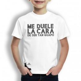 Camiseta Me Duele La Cara para Niños La Banda del Capitán Inhumano