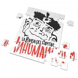 Puzzle Cabeza La Banda del Capitan Inhumano