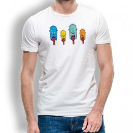 Camiseta Helados Zombie para Hombre