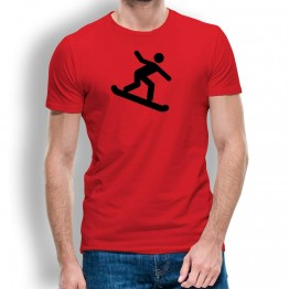 Camiseta Snowboard para Hombre