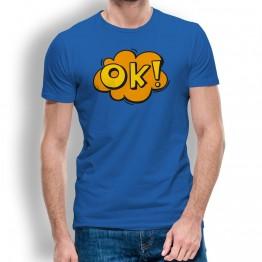 Camiseta Comic OK para Hombre