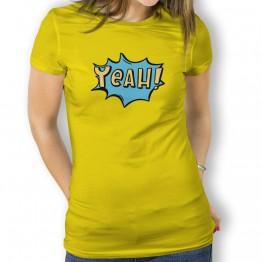 Camiseta Comic Yeah para Mujer