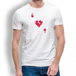 camiseta as de corazones