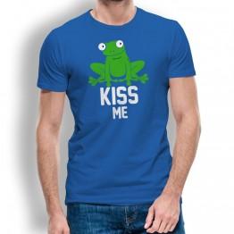 Kiss me Camiseta hombre