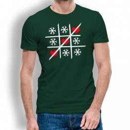 camiseta Tres en Raya hombre