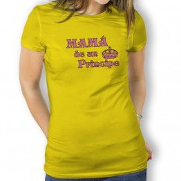 Camiseta Mama de un principe mujer