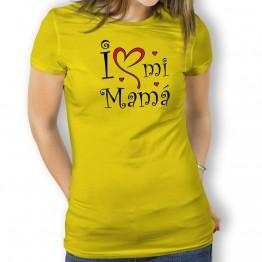 Camiseta Love mi Mamá para mujer