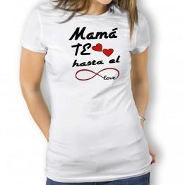 Camiseta Mamá Te Quiero para mujer