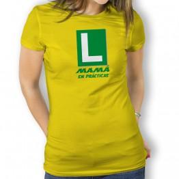 Camiseta Mamá en Practicas