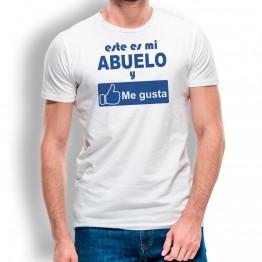 Camiseta Abuelo Me Gusta para hombre