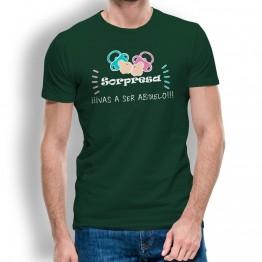Camiseta Vas a Ser Abuelo hombre