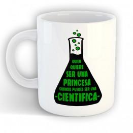 Taza Princesa o Científica