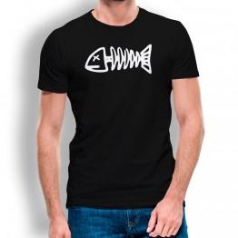 Camiseta Raspa Pescado para hombre