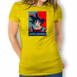 Camiseta Super Guerrero Vintage para mujer