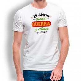 Camiseta Años Dando Guerra