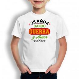 Camiseta Años Dando Guerra para niños