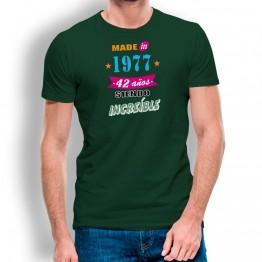 Camiseta Años Siendo Increíble para hombre