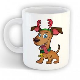 Taza Perro Navidad