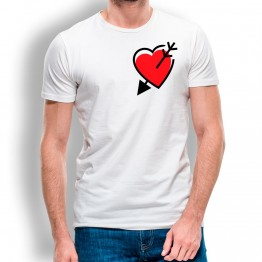 Camiseta Corazón y Flecha para hombre