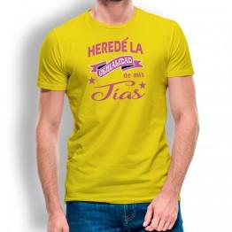Camiseta Heredé Genialidad para hombre