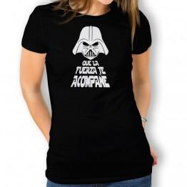 Camiseta Que La Fuerza Te Acompañe para mujer