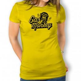 Camiseta Gas monkey para mujer