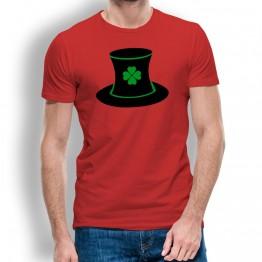 Camiseta St Patrick Sombrero para hombre