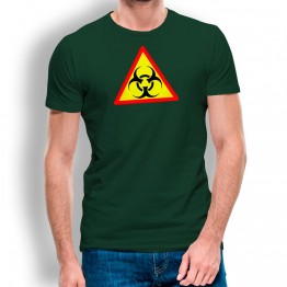 Camiseta Peligro Infección para hombre