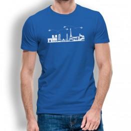 Camiseta Skyline para hombre