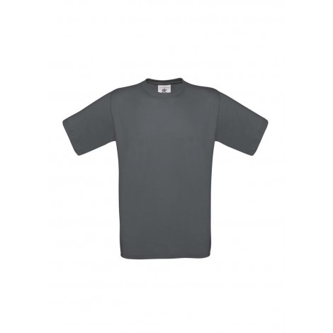 Camiseta Gris Oscuro B&C Exact 150
