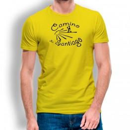 Camiseta Camino De Santiago para hombre