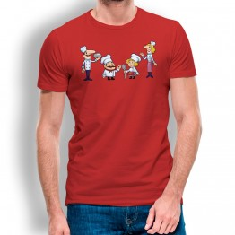 Camiseta Familia De Chefs para hombre