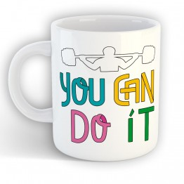 Taza You Can Do It