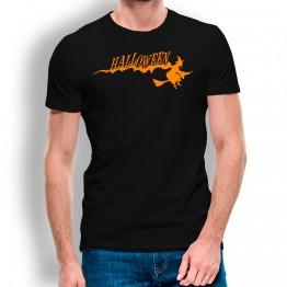 Camiseta Bruja Halloween para hombre