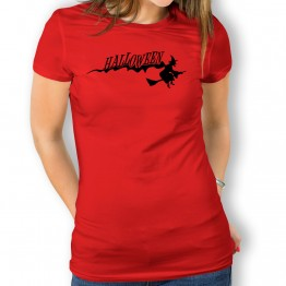 Camiseta Bruja Halloween para mujer