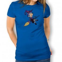 Camiseta Bruja Vampiro para mujer