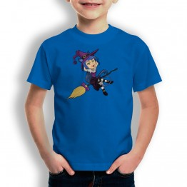 Camiseta Bruja Vampiro para niños