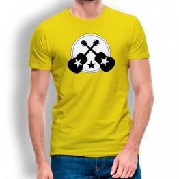 Camiseta Guitarra con Estrella para hombre