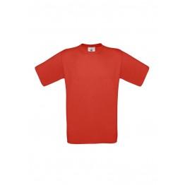 Camiseta Niño Roja B&C Exact 150