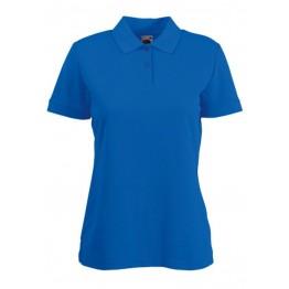 Polo 65/35 Mujer Azul Real