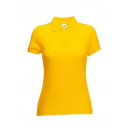 Polo 65/35 Mujer Amarillo