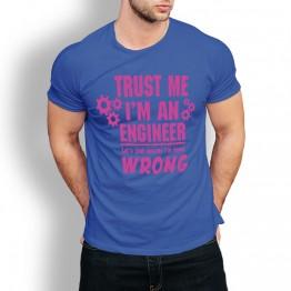 camiseta ingeniero friki hombre