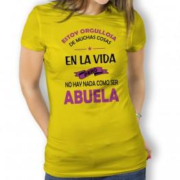 camiseta abuela orgullosa mujer