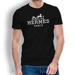 CAMISETA CABALLO HERMES HOMBRE