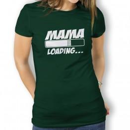 camiseta Mamma loading mujer