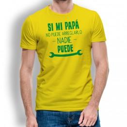 Camiseta Papa Mecánico